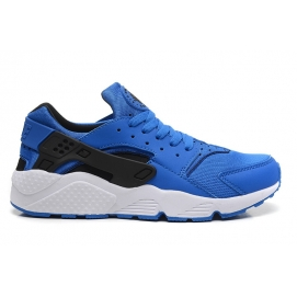 Zapatillas NK Air Huarache Azul y Blanco