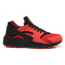 Zapatillas NK Air Huarache Rojo y Negro