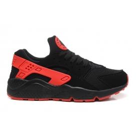 Zapatillas NK Air Huarache Negro y Rojo