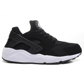 Zapatillas NK Air Huarache Negro y Blanco