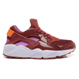 Zapatillas NK Air Huarache Granate, Rosa y Blanco