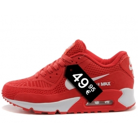 Zapatillas NK Air max 90 KPU Rojo y Blanco