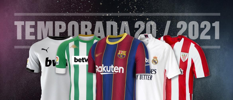 Camisetas de fútbol 2021